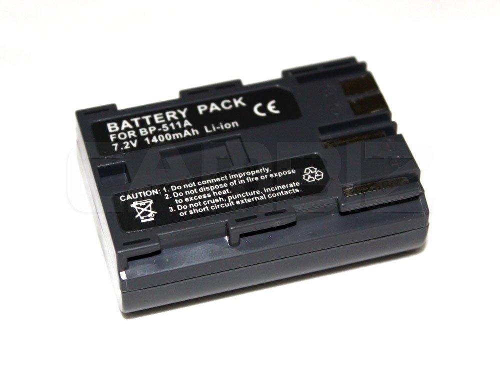 Canon BP-511A DSLR Battery (1400mAh)