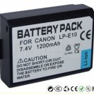 Canon LP-E10 DSLR Battery (1200mAh) for EOS 1100D, KISS X50, REBEL T3