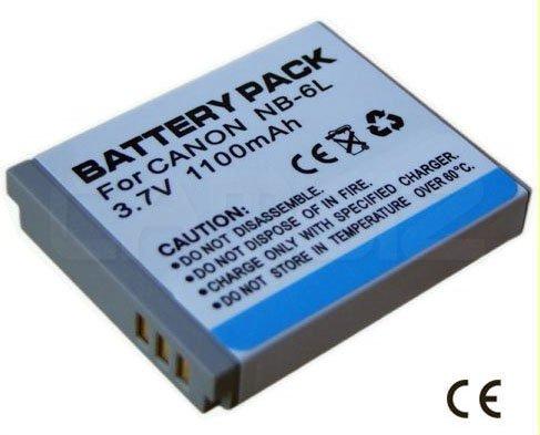 Canon NB-6L Battery (1100mAh) for Powershot and IXUS Series