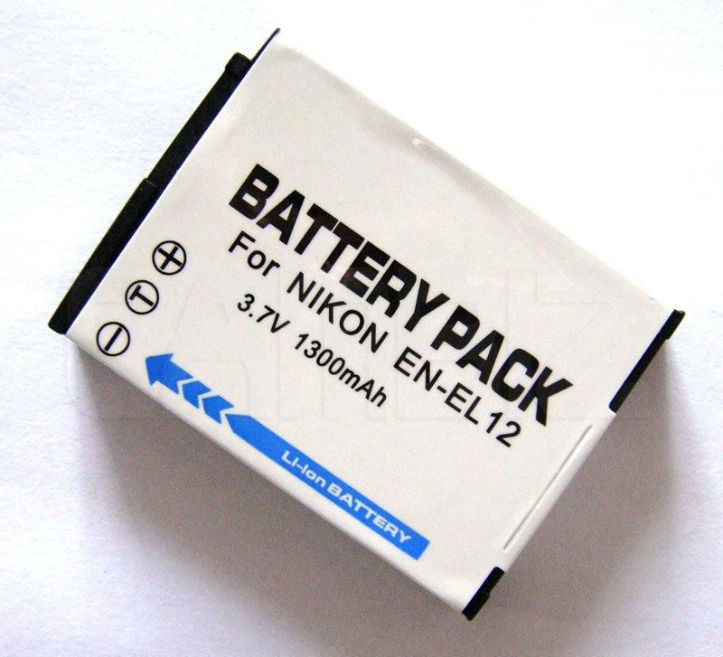 Nikon EN-EL12 Battery (1300mAh) for Coolpix series