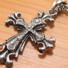 SN079 Crystal Cross Silver Pendant Necklace Best Gift Idea
