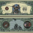 Lot of 100 US Marines FULL COLOR BILLS
