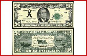 AR112 100 2002 Bush Remembrance Note!