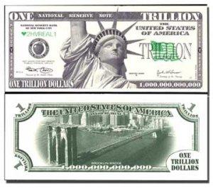 AR113 100 Brooklyn Bridge Trillion Dollar Bill