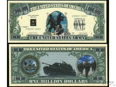 NM001 100 US ARMY COMMEMORATIVE BILL