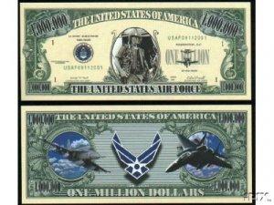 NM004 100 US AIR FORCE COMMEMORATIVE BILL