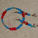 Set Bracelet and earring Earth of the Forest