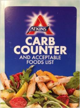 Atkins Comprehensive Carb Counter and Acceptable Food Lists