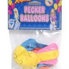 Bachelorette Party Pecker Balloons - 8 pack