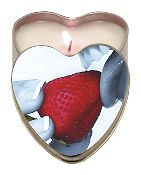 Edible Massage Candle - Strawberry Flavor