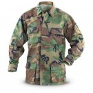 WOODLAND BDU SHIRT SIZE L REG. NYCO NEW