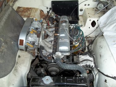 TRIUMPH TR6 PARTS CARS 1976 W/AC&OD AND 1973