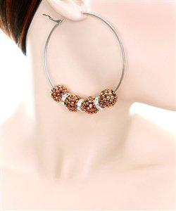 Gold Basketball Wives Inspired Earrings