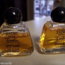 Vintage Emilio Pucci Zadig Parfum-Lot of Two 1/2 oz