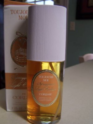 Corday Toujours  Moi Spraygrance Light Cologne-2.25 oz