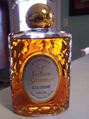Vintage Houbigant Indian Summer Cologne Splash-5.50 oz