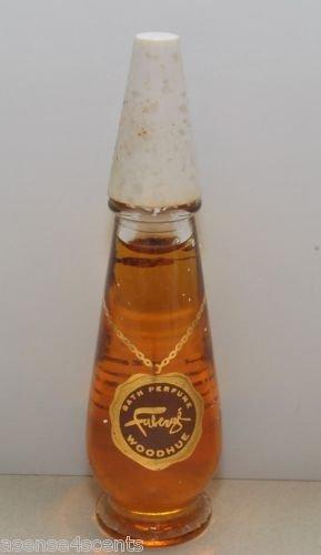 Vintage Faberge Woodhue Bath Perfume-1/2 fl. oz