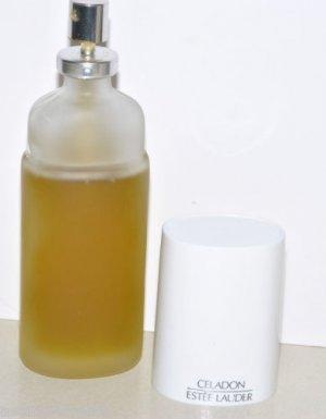 Vintage Estee Lauder Celadon Pure Parfum Natural Spray-2.0 fl. oz