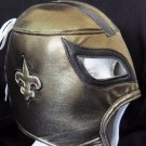 NFL UNOFFICIAL SAINTS NEW ORLEANS STYLE MASK PRO FIT MEXICAN WRESTLING MASK LUCHA LIBRE HALLOWEEN