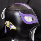 NFL UNOFFICIAL BALTIMORE RAVENS STYLE MASK PRO FIT MEXICAN WRESTLING MASK LUCHA LIBRE HALLOWEEN