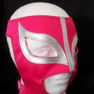 PINK SEXY LADY MASK!! WOMEN WOMAN LADIES PRO FIT MEXICAN WRESTLING MASK LUCHA LIBRE HALLOWEEN