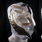 REY MISTERIO WHITE KIDS SIZE MEXICAN WRESTLING MASK