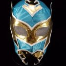 SIN CARA TURQUOISE ECONOMIC KIDS SIZE MEXICAN WRESTLING MASK