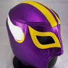 NFL UNOFFICIAL MINNESOTA VIKINGS STYLE MASK PRO FIT MEXICAN WRESTLING MASK LUCHA LIBRE HALLOWEEN