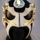 ULTIMO GUERRERO BLACK ADULT SIZE MEXICAN WRESTLING MASK