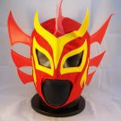 RED DRAGON ADULT SIZE MEXICAN WRESTLING MASK