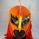 EL GIRO ORANGE ADULT SIZE MEXICAN WRESTLING MASK