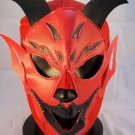 RED DEVIL ADULT SIZE MEXICAN WRESTLING MASK