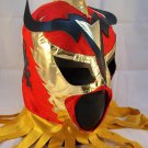 ULTIMO DRAGON RED Premium Adult Mexican Wrestling Lucha LIbre Mask Halloween