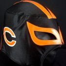 NFL UNOFFICIAL CHICAGO BEARS STYLE MASK PRO FIT MEXICAN WRESTLING MASK LUCHA LIBRE HALLOWEEN
