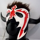 PSICOSIS BLACK - RED ADULT SIZE MEXICAN WRESTLING MASK