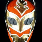 SIN CARA ORANGE ECONOMIC KIDS SIZE MEXICAN WRESTLING MASK