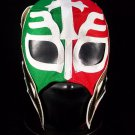 REY MISTERIO TRI COLOR MEXICOKIDS SIZE MEXICAN WRESTLING MASK