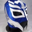 REY MISTERIO BLUE ADULT SIZE MEXICAN WRESTLING MASK