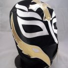 REY MISTERIO BLACK ADULT SIZE MEXICAN WRESTLING MASK