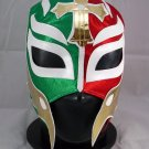 REY MISTERIO TRICOLOR MEXICO ADULT SIZE MEXICAN WRESTLING MASK