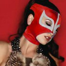 RED SEXY LADY MASK!! WOMEN WOMAN LADIES PRO FIT MEXICAN WRESTLING MASK LUCHA LIBRE HALLOWEEN