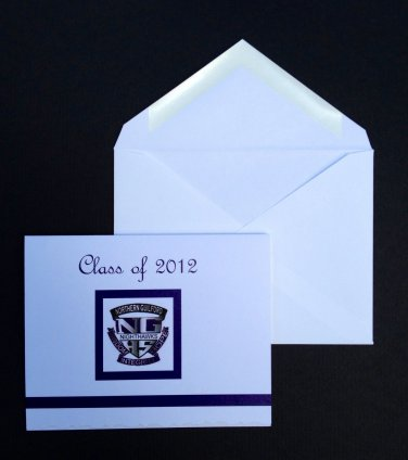 Paper Therapy | Graduation Invitation | Logo on front