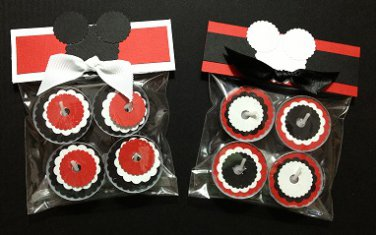 Paper Therapy Baby Shower Tealight Candle Party Favor-Mickey Mouse