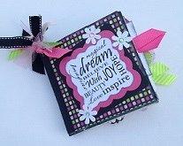 Paper Therapy Mini Scrapbook-Dream