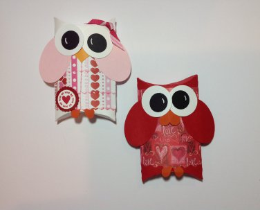 Paper Therapy | Valentine's Day |Owls