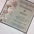 Custom Handmade Save the Date Announcements   Paper Therapy