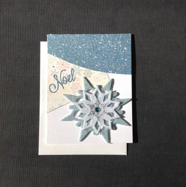 Christmas Card | Noel Snowflake | Paper Therapy