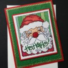 Christmas Card | Santa Claus | Paper Therapy