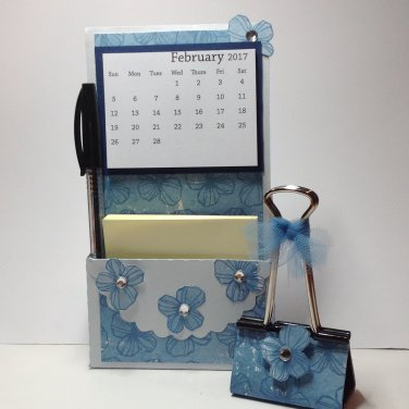 Easel Calendar | Sticky Note | Photo Clip | Paper Therapy