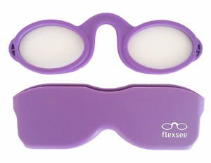 Lilac Flexsee Nose Resting Flexible Silicone Phone Readers/Reading Glasses +2.50